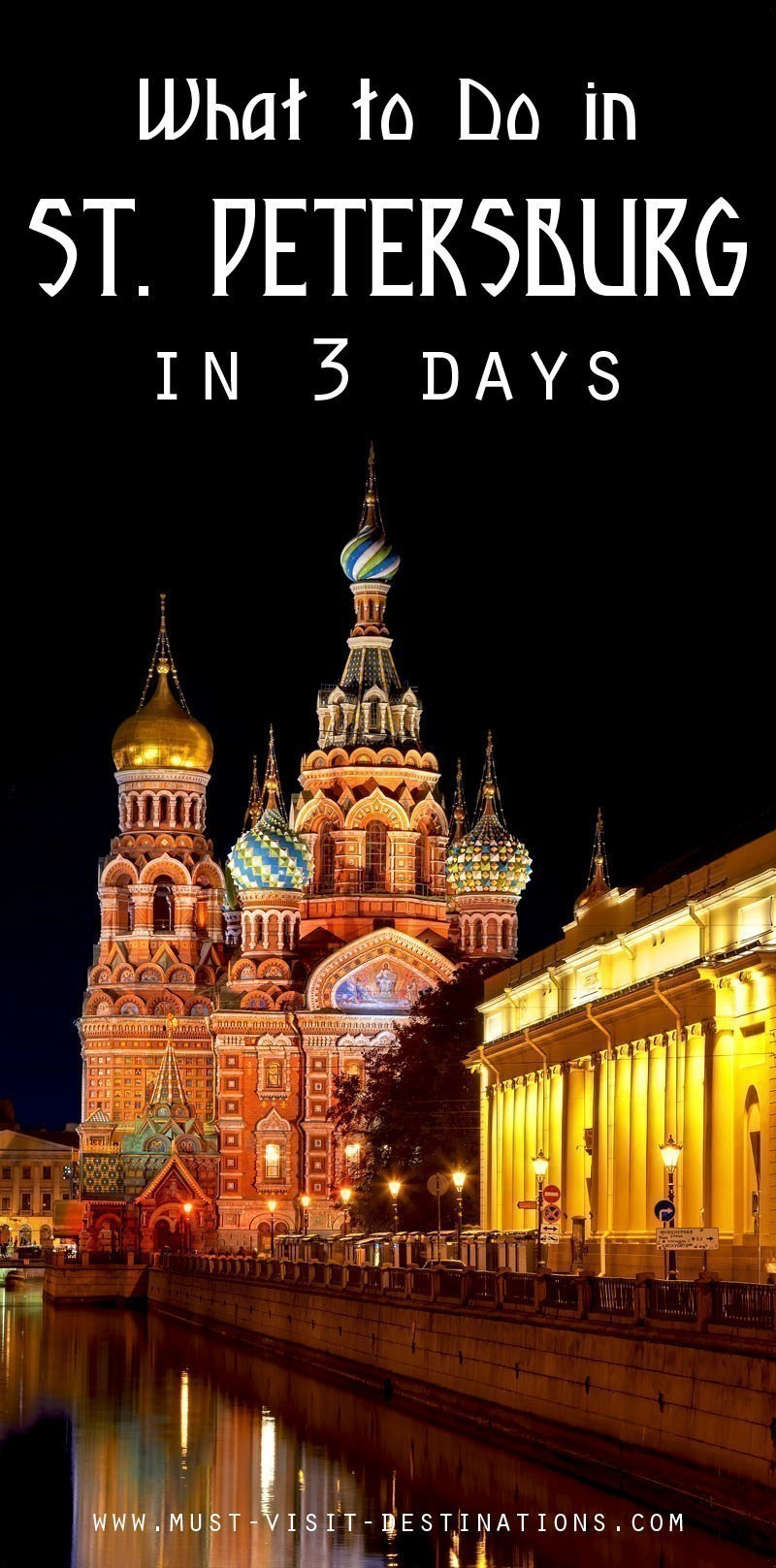 Planning a trip of 3 days in St. Petersburg? Then you are heading towards the most awesome trip of your life. Here are some things to do in St. Petersburg in 3 Days.