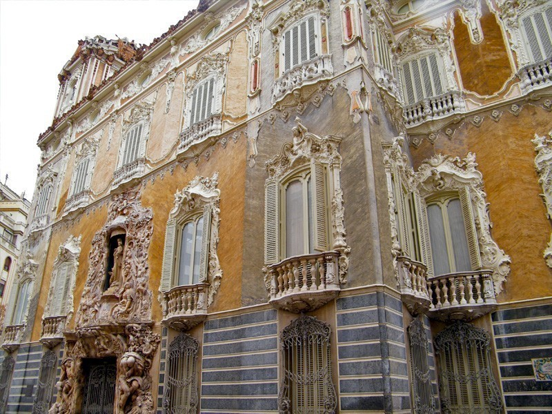 Marques de Dos Aguas Palace, a Rococo nobiliy palace in Valencia, Spain | What to Do in Valencia in 3 Days