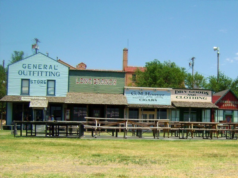 The Boot Hill Museum in Kansas boasts genuinely unique collections ranging between the 1870s and the 1920s