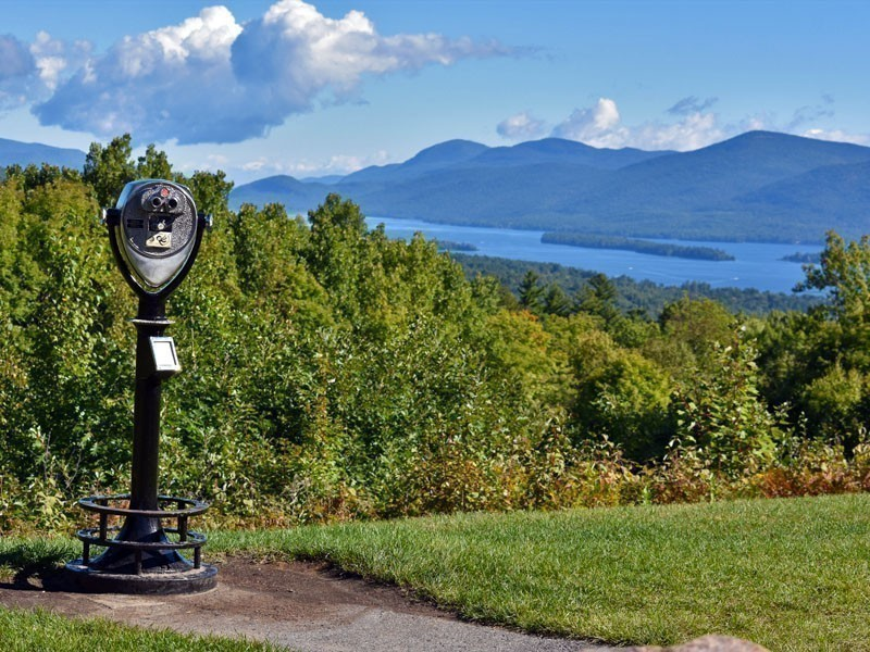 Magnificent view of Lake George, New York, so-called Queen of American Lakes | 10 Most Magnificent Lakes In North America