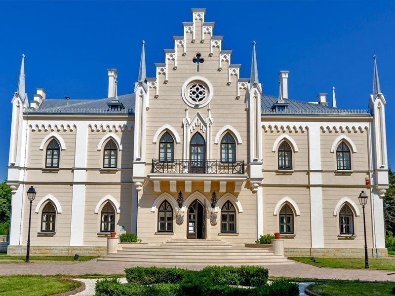The Cuza Memorial Palace of Ruginoasa is located in Iași County, Romania   Top 10 Must-see Castles and Palaces in Romania