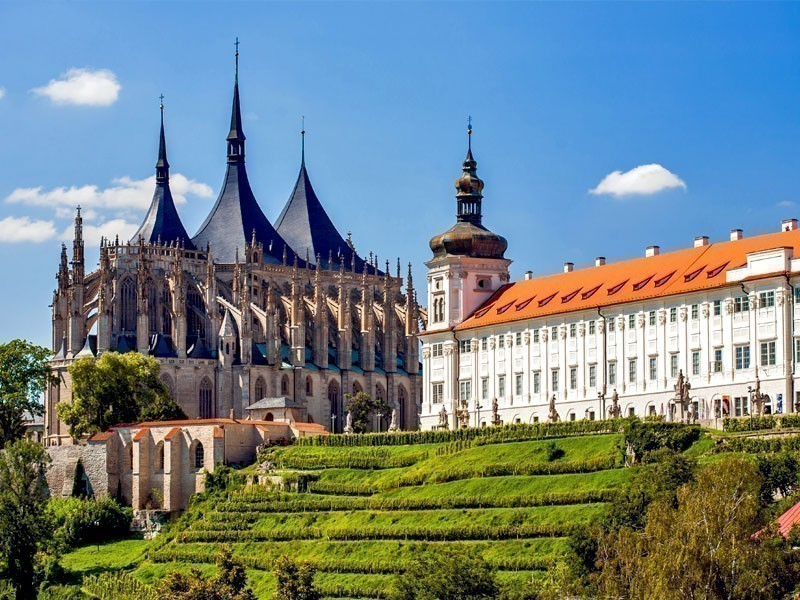 Church of Saint Barbara in Kutná Hora, a charming small town in Czech Republic | 10 Hidden Tourist Gems In Eastern Europe You Didn't Know About