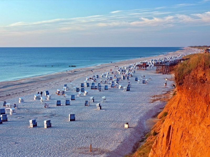 Sylt has long been a playground for Germany's rich and famous and has one of the longest unbroken stretches of immaculate sandy beach in all of Europe   10 Hidden Tourist Gems In Germany You Didn't Know About