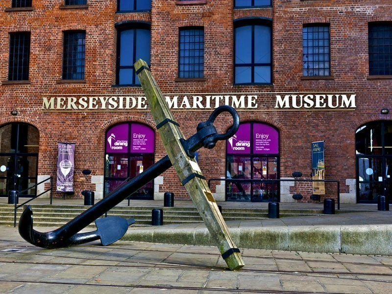 Merseyside Maritime Museum, situated on the Albert Dock in Liverpool, UK | What to Do in Liverpool in 3 Days