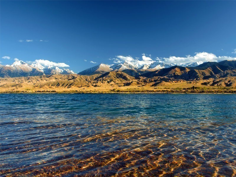 Amazing View of Issyk-Kul lake, Kyrgyzstan | 10 Most Magnificent Lakes In Asia