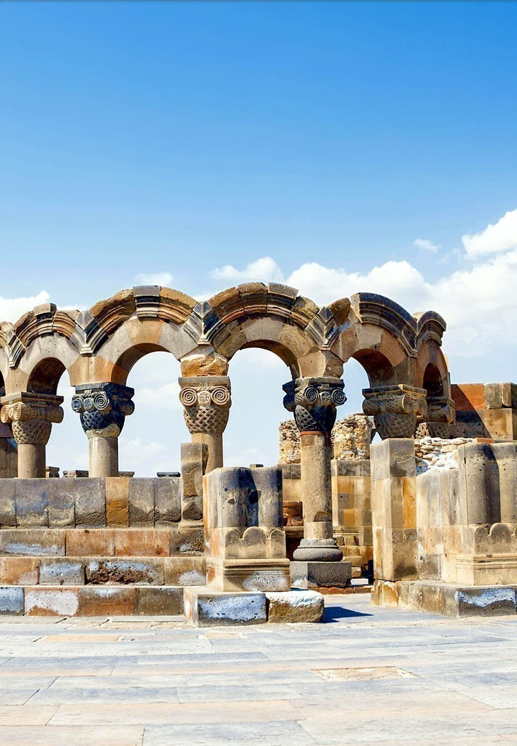 Visit the Ancient Zvartnots Cathedral | 7 Reasons Why You Need to Visit Armenia