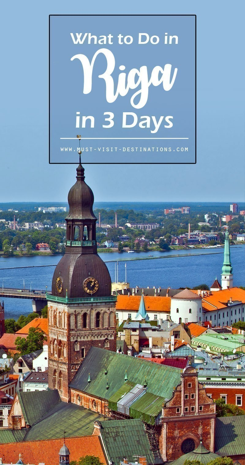 Planning a trip of 3 days in Riga? Then you are heading towards the most awesome trip of your life. Here are some things to do in Riga in 3 Days. #riga #travel