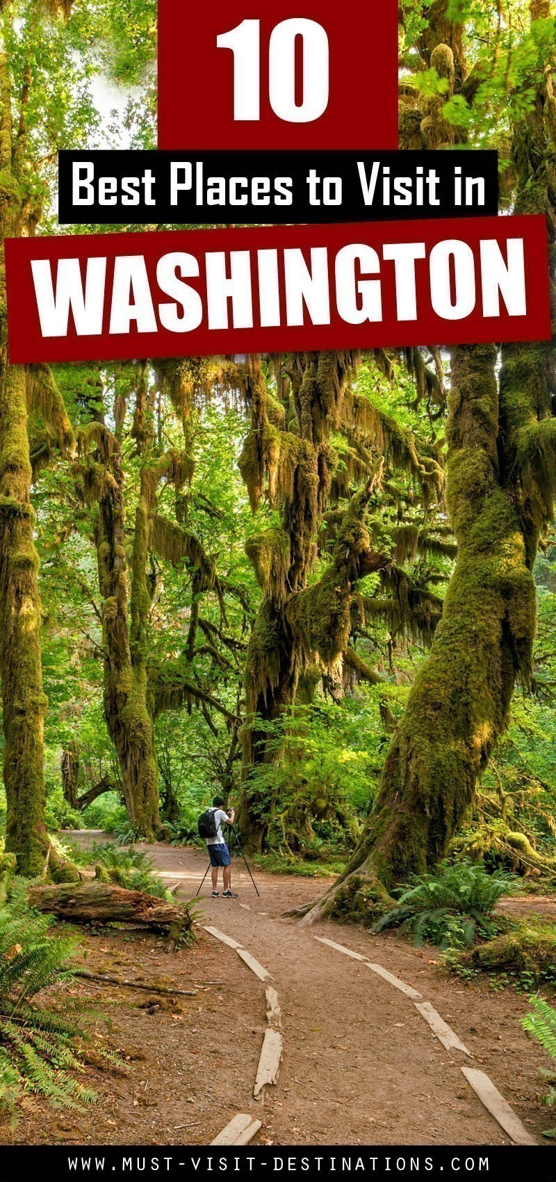 Discover the most popular tourist attractions to visit in Washington. Here is an overview of the TOP 10 Best Places to Visit in Washington. #travel
