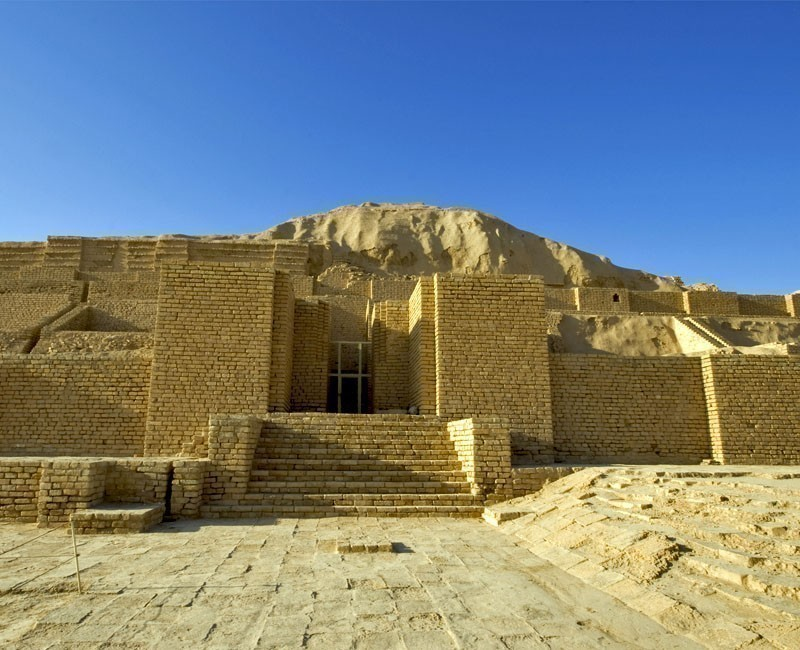 The Choga Zanbil is one of the few ziggurats outside of Mesopotamia. The structure was built about 1250 BC to honor the great god Inshushinak   Why You Need to Visit Iran and Where to Go