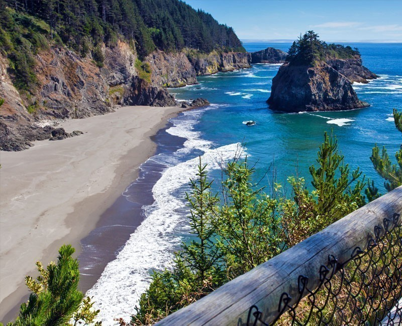 Boardman State Park can be found near the City of Brookings and Route 101   10 Best Places To Visit In Oregon