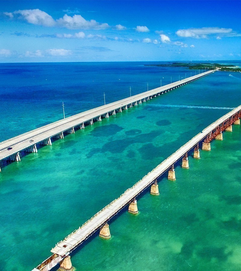 Seven Mile Bridge, Florida, USA | 14 Iconic Roads Around The World You Ought To Drive At Least Once In Your Life